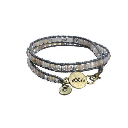 KOCHI Island of calm bracelet (Grey)