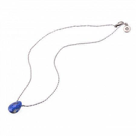 Amulet with Lapis lazulit gemstone